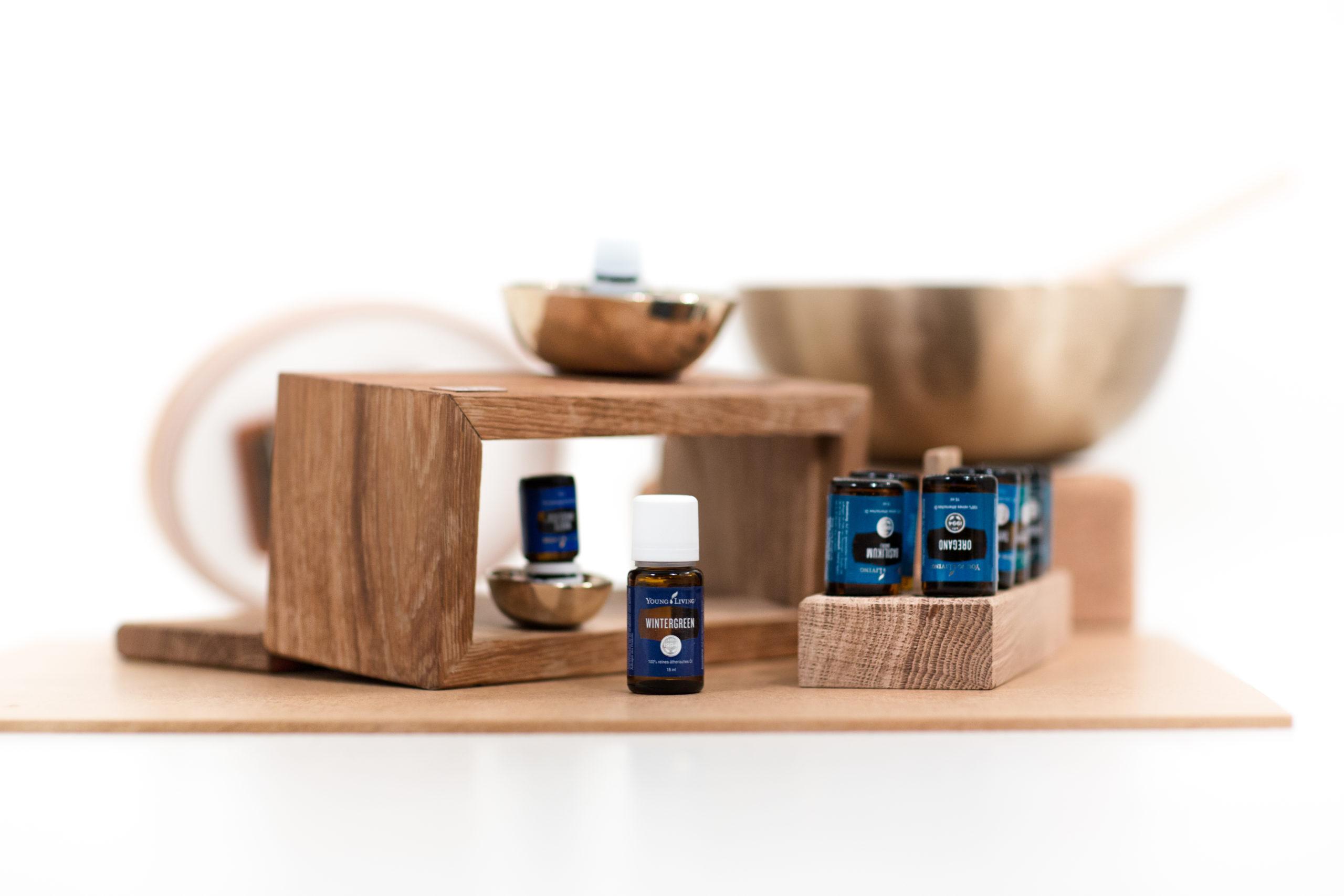 Ätherische Öle für eine Raindrop Massage